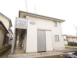神奈川県厚木市林1丁目の賃貸アパートの外観