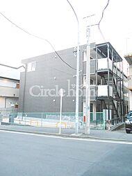 神奈川県横浜市港北区新吉田東3丁目の賃貸マンションの外観