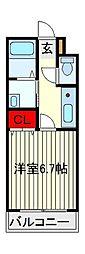 Liever(リエーヴル)A棟[1階]の間取り