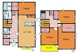 [一戸建] 千葉県柏市西町 の賃貸【/】の間取り