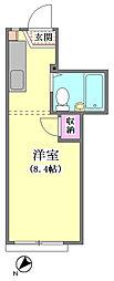 COMMODE山王[102号室]の間取り