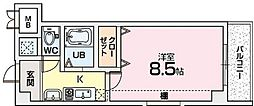 Mプラザ津田駅前十番館〜[4階]の間取り