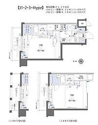 ZOOM板橋大山 6階1Kの間取り