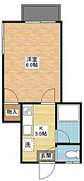 長崎県長崎市三芳町の賃貸アパートの間取り