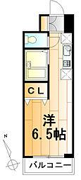 ダジュール[5階]の間取り