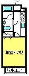 KU・ワコース大成M[4階]の間取り