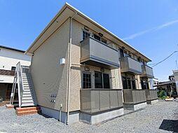 栃木県宇都宮市陽東7丁目の賃貸アパートの外観