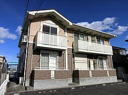 愛知県岡崎市福岡町字菱田の賃貸アパートの外観