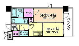 エステムプラザ福島ジェネル[6階]の間取り