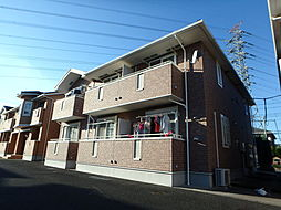 栃木県小山市西城南5丁目の賃貸アパートの外観