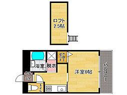 リブレア井尻駅前[2階]の間取り