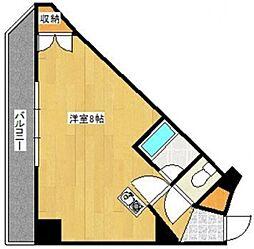 キャンパスシティ太宰府[308号室]の間取り