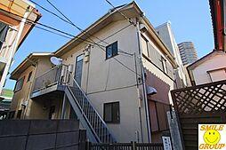 千葉県市川市八幡3丁目の賃貸アパートの外観
