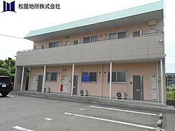 愛知県蒲郡市大塚町南向山の賃貸アパートの外観