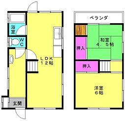 [一戸建] 兵庫県加古郡播磨町宮西1丁目 の賃貸【/】の間取り
