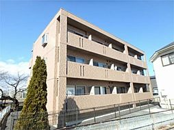 東京都日野市平山5丁目の賃貸マンションの外観