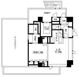KDXレジデンス駒沢公園[8階]の間取り