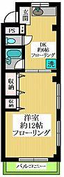 東京都世田谷区北沢3丁目の賃貸マンションの間取り