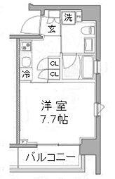 プラウドフラット浅草橋III[8階]の間取り
