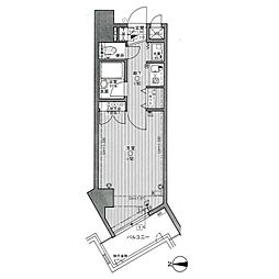 ライオンズマンションキャンパスシティ香椎[3階]の間取り