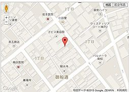ジョイフル長田の地図詳細