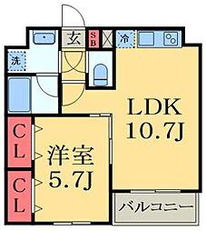 JR総武線 千葉駅 バス13分 かわまち矢作モール下車 徒歩1分の賃貸マンション 1階1LDKの間取り