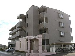 岐阜県羽島市舟橋町出須賀2丁目の賃貸マンションの外観
