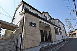 大阪府松原市高見の里2丁目の賃貸アパートの外観