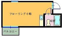 サンパークマンション大橋6[201号室]の間取り