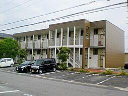 愛知県岡崎市上里2丁目の賃貸アパートの外観