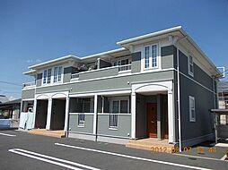 栃木県栃木市薗部町3丁目の賃貸アパートの外観