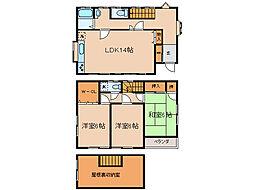 [一戸建] 神奈川県横浜市保土ケ谷区岩井町 の賃貸【/】の間取り
