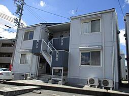 愛知県岡崎市井ノ口新町の賃貸アパートの外観