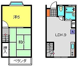 [テラスハウス] 神奈川県横浜市南区南太田4丁目 の賃貸【/】の間取り