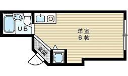JPアパートメント東淀川7[3階]の間取り