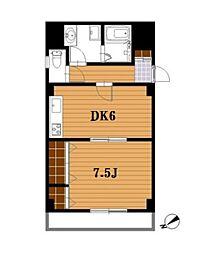 メゾネットK[4階]の間取り