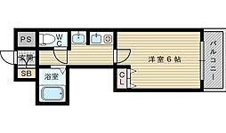 MYM成和[4階]の間取り