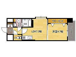 Volare Aqua Place[2階]の間取り