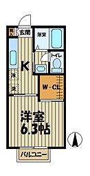 インプレス鎌倉III[103号室]の間取り
