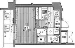 ガラ・シティ駒沢大学[8階]の間取り