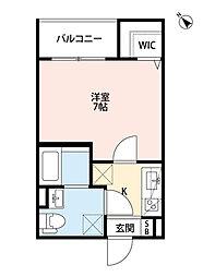 Sweet Doors神戸[2階]の間取り