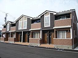 新潟県新潟市南区上曲通の賃貸アパートの外観