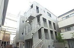 東京都大田区南千束3丁目の賃貸マンションの外観
