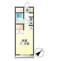 KKハイム[2階]の間取り