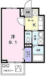 エストポワール[4階]の間取り