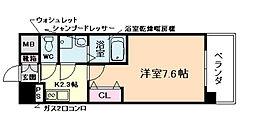 ジュネーゼグラン福島エビエ[2階]の間取り
