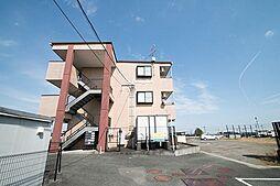 静岡県牧之原市勝田の賃貸マンションの外観