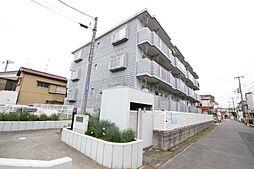 千葉県市川市下新宿の賃貸マンションの外観