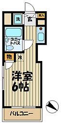 TOP大船NO1[204号室]の間取り