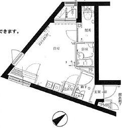 ファーストプレイスCQレジデンス梶ヶ谷[4階]の間取り